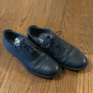 Camper leather women oxford shoes size europe 38